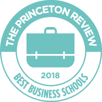 2018 Princeton Review Best Business School