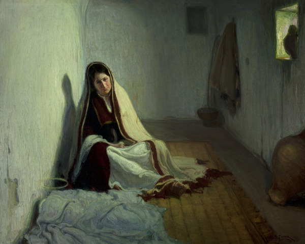 Henry Ossawa Tanner (American, 1859-1937), Mary, 1898, Oil on Canvas, Purchased with funds from Regina and Regan Henry