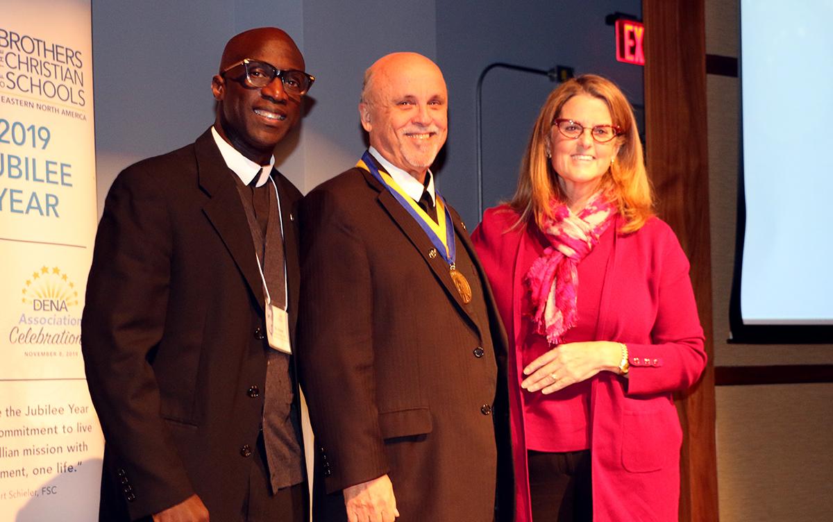 Superior General Br. Robert Schieler Receives Presidential Medal