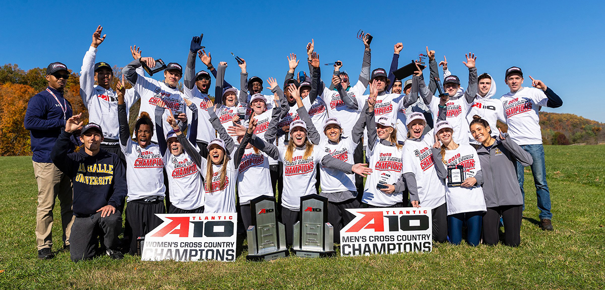 Men's and Women's A-10 Champs