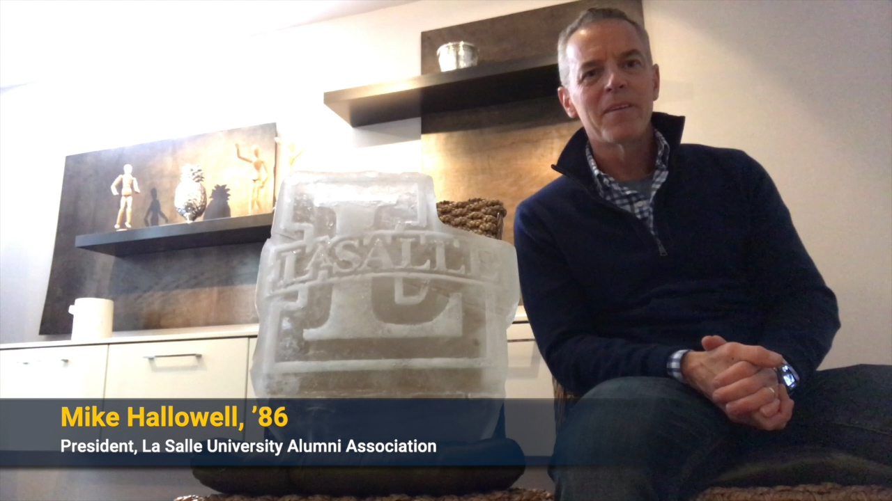 Mike Halowell welcomes the Class of 2020 to the Alumni Association