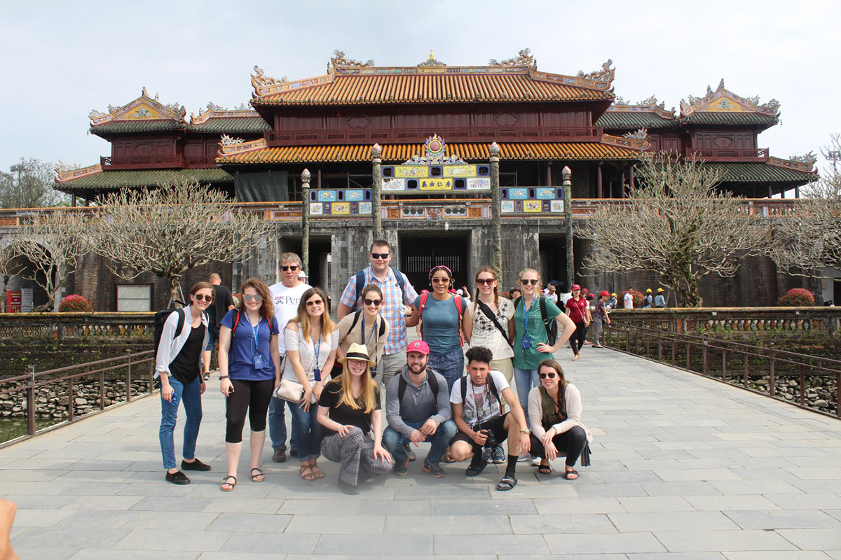 Jacob Garwood on a study abroad trip in Vietnam