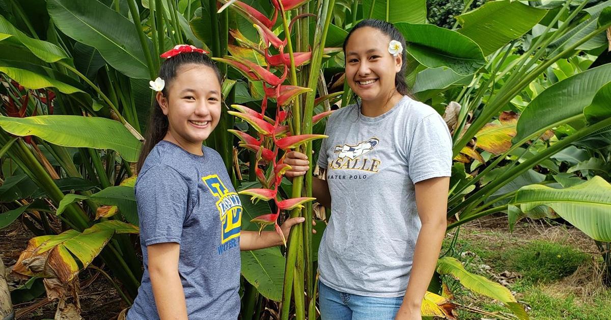 Katelynn Kubo and her sister Kira