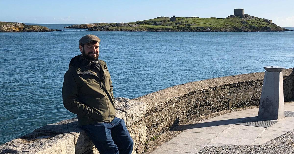Paul Fitzpatrick, '20 in Ireland
