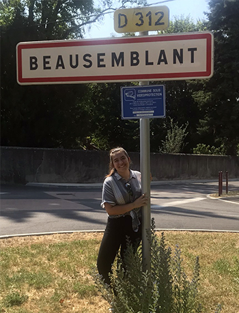 new la salle student in Beausemblant, France