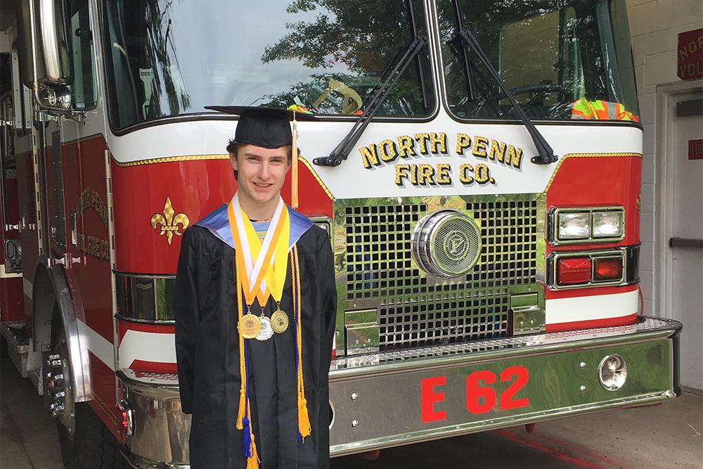 Eric WIlson at North Penn Fire Company