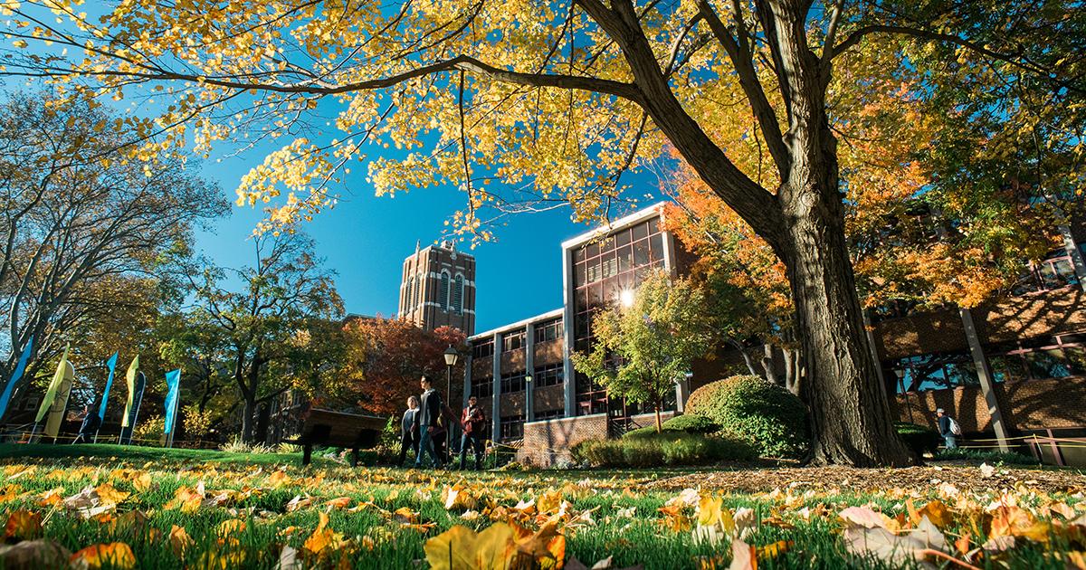 La Salle Fall 2024 campus scene