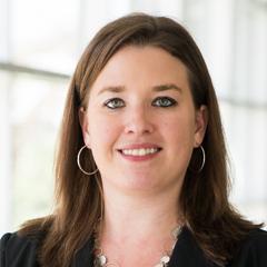 Photo of La Salle University professor, Caitlin Taylor, Ph.D.