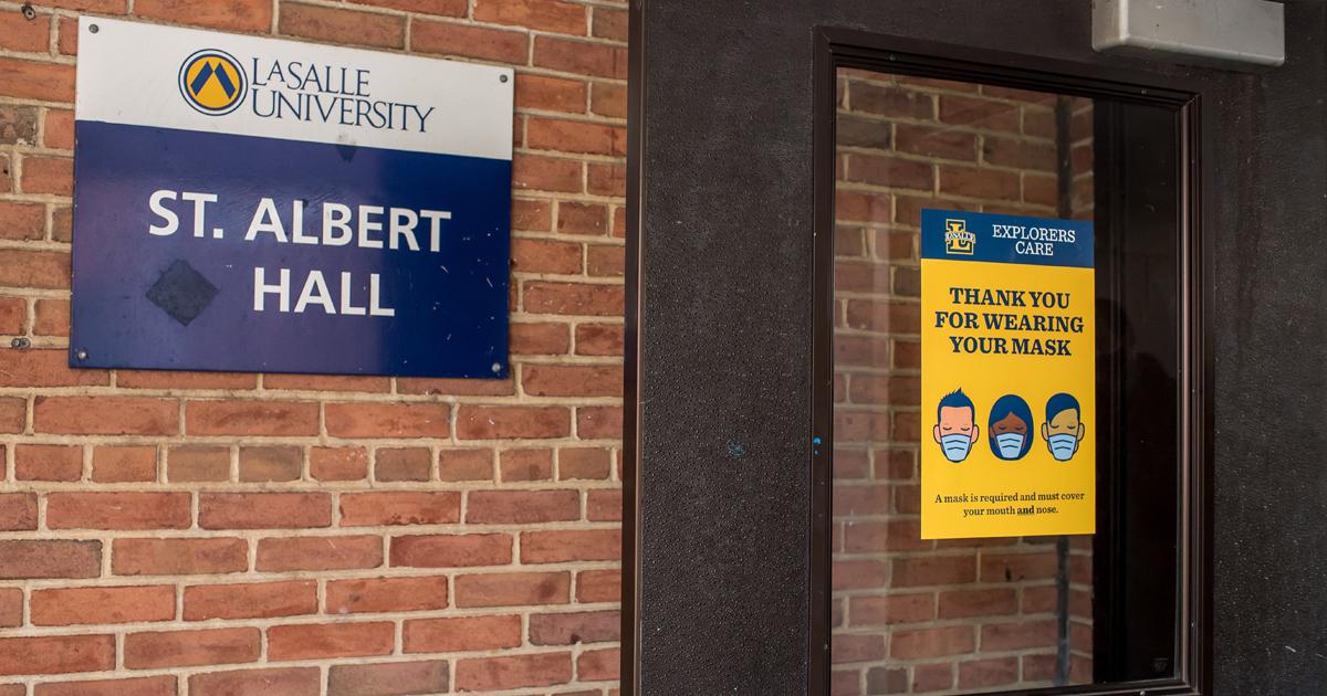 Image from inside of St. Albert Hall at La Salle University