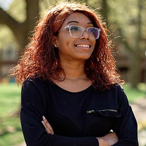 Image of La Salle University student Cimone Bates