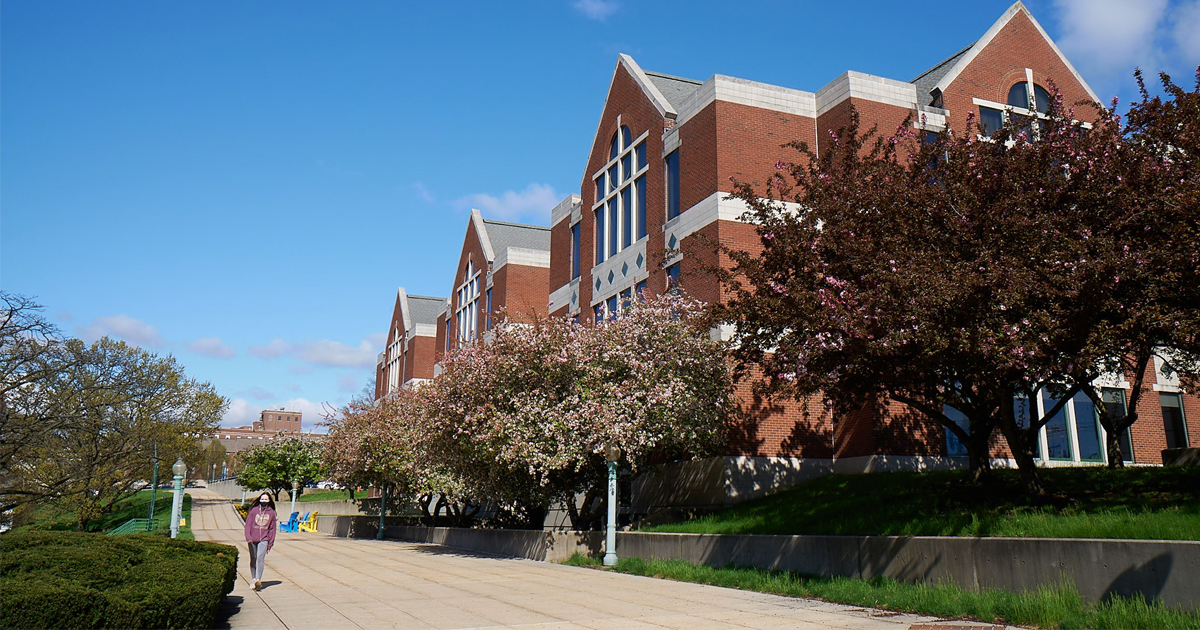 Image of Connelly Library at La Salle University