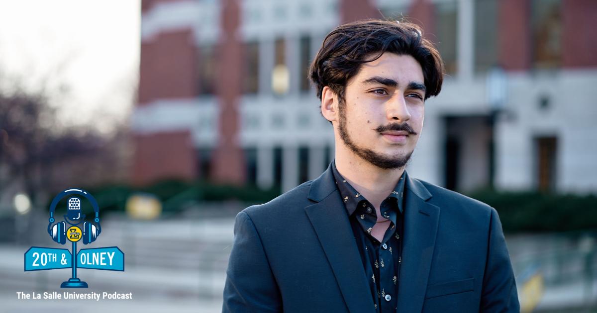 Image of La Salle University graduate Adam Al-Asad
