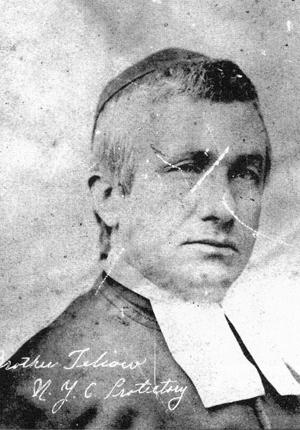 Image of Brother Teliow Fackeldey, 1863, La Salle University Archives.