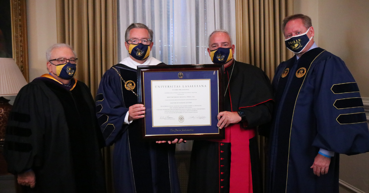 Image of the Honors Convocation.