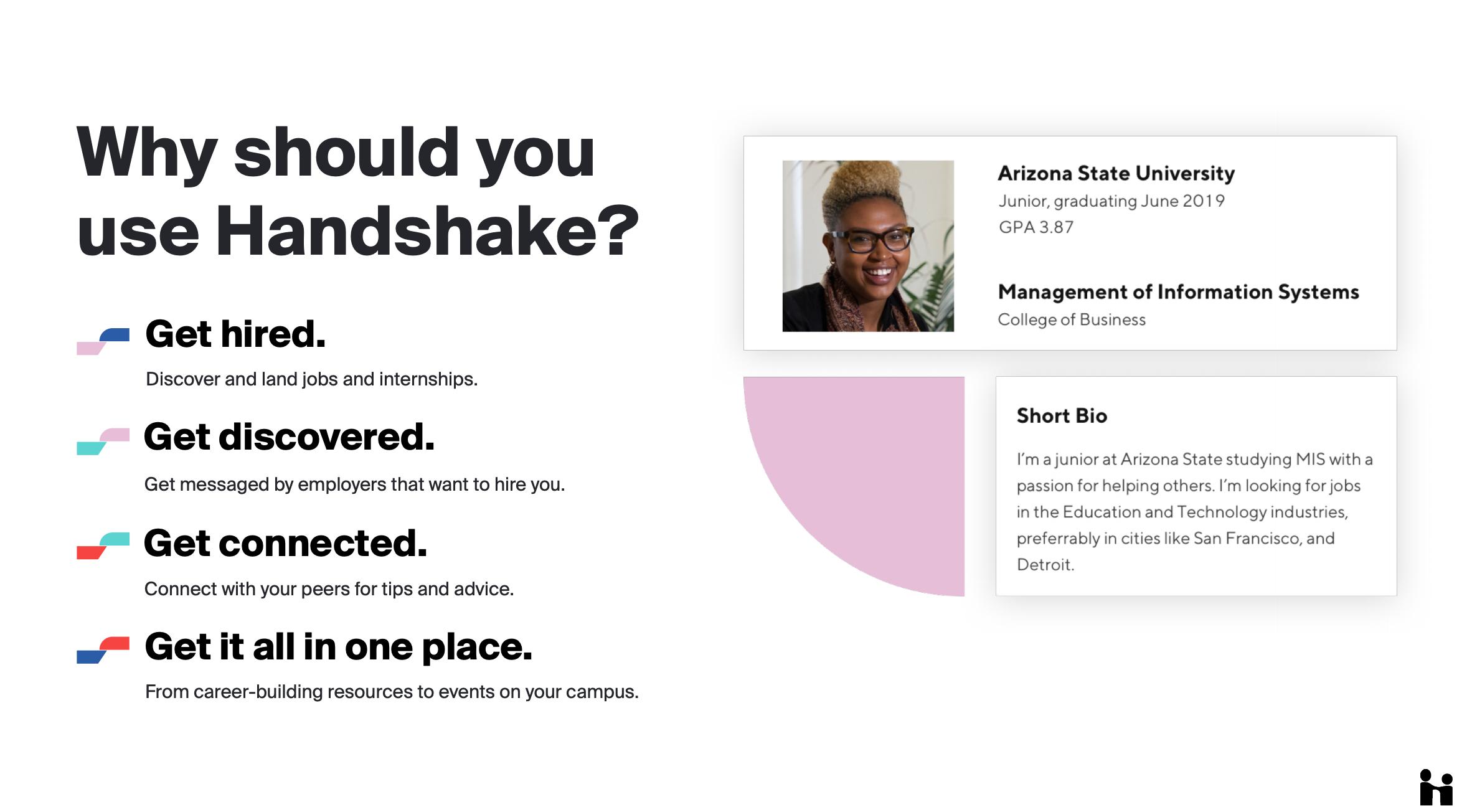 why use handshake