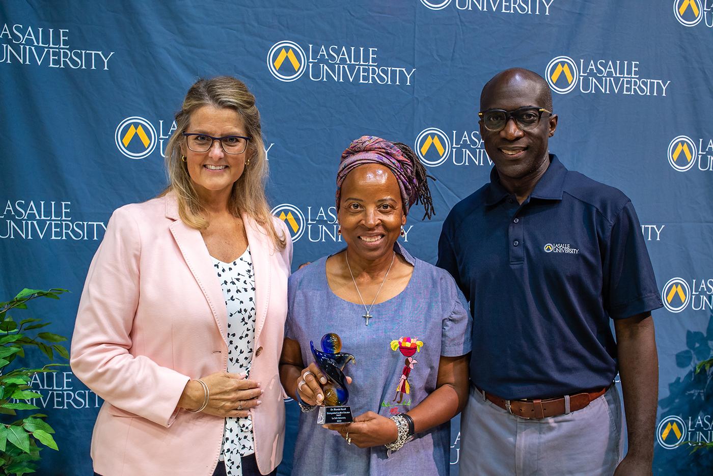 Distinguished Lasallian Education Educator Award Presentation