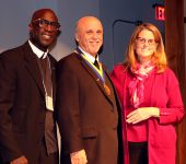 Superior General Brother Robert Schieler Receives Br. Teliow Fackeldey Medal