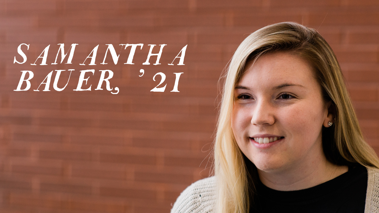 Student profile photo of Samantha Bauer