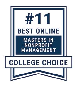 Best Online Masters in Nonprofit Leadership