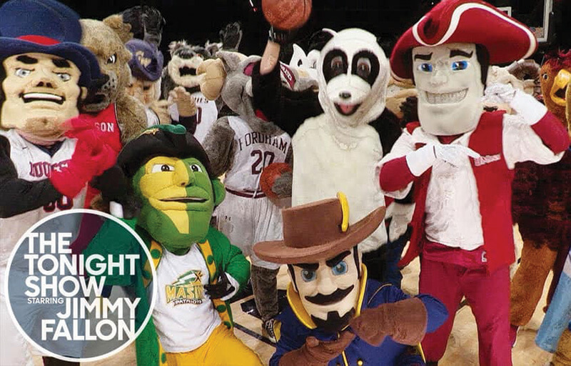 explorer with other college mascots