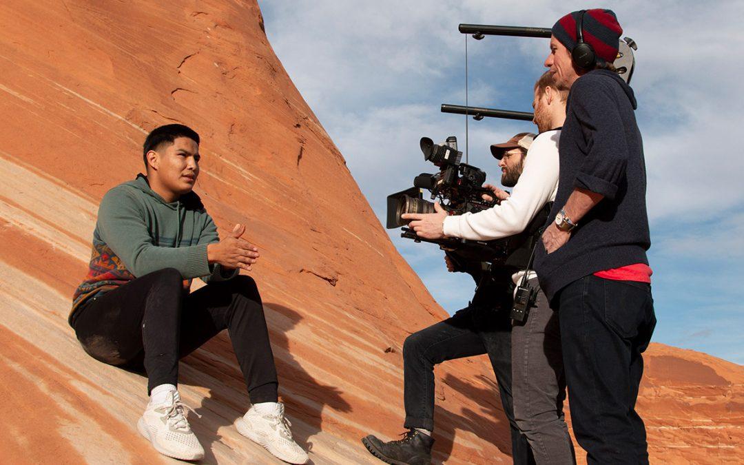 Alum wins award for docuseries chronicling Navajo basketball team