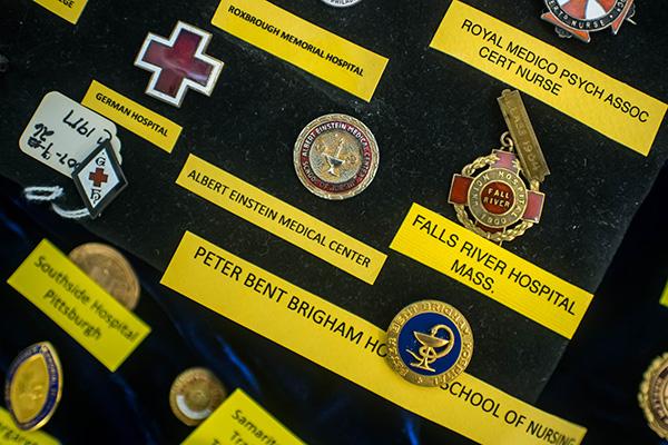 Nursing history on display at LaSalle