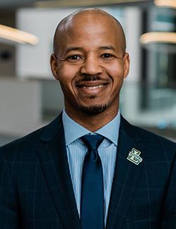 Director of Intercollegiate Athletics & Recreation Brian Baptiste,
