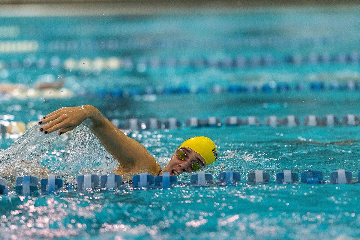 La Salle Woman Swimming