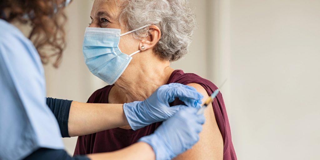 Covid-19 vaccine shot