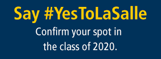 Confirm Your Spot in the Class of 2020