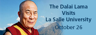 The Dalai Lama Visits La Salle October 26