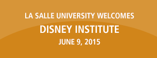 La Salle University Welcomes Disney Institute